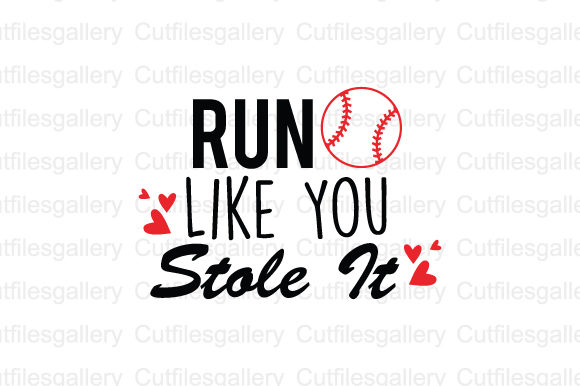 Download Free Run Like You Stole It Svg Graphic By Cutfilesgallery Creative for Cricut Explore, Silhouette and other cutting machines.