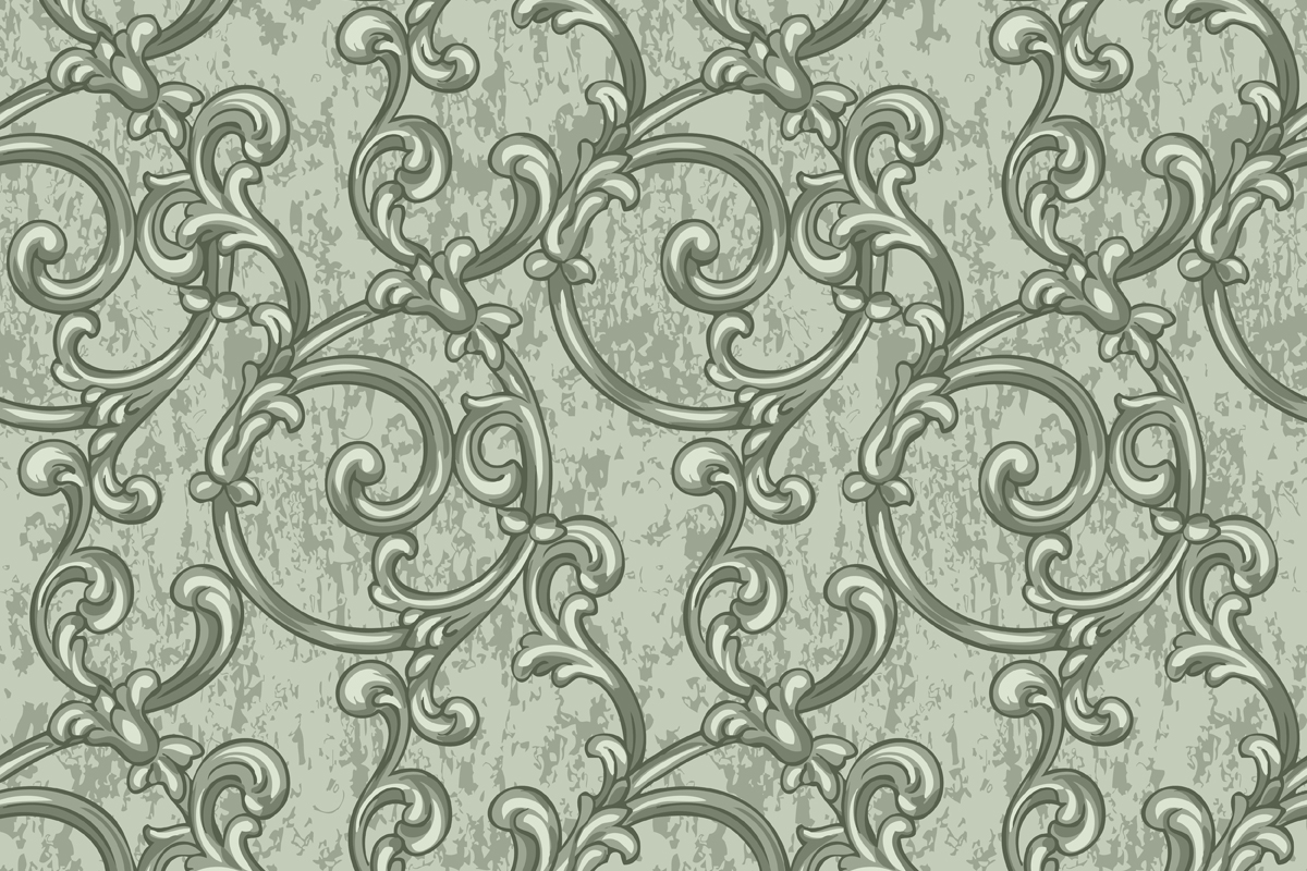 Scroll Pattern Graphic By Emikundesigns Creative Fabrica