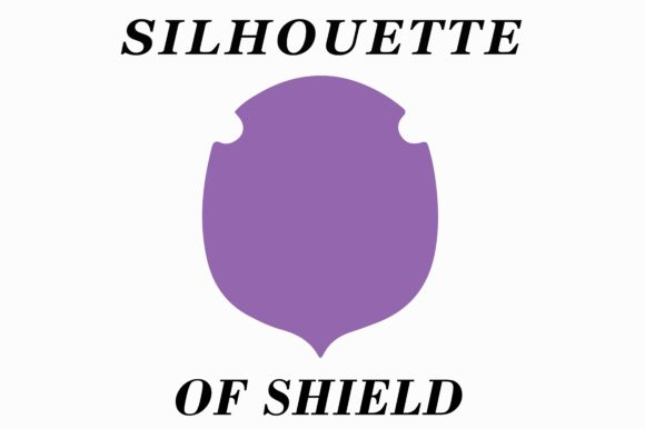 Download Free Shield Silhouette Graphic By Themagicboxart Creative Fabrica for Cricut Explore, Silhouette and other cutting machines.
