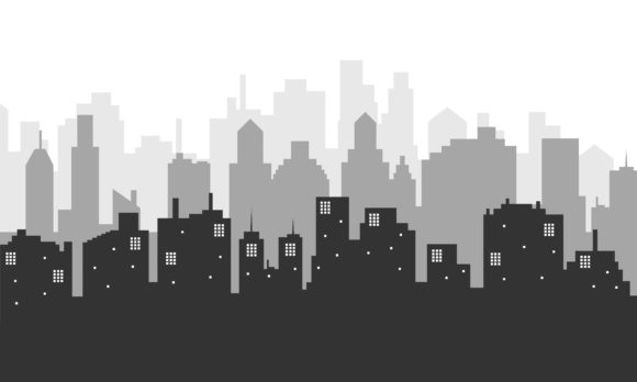Download Free City Background In A Beautiful Afternoon Graphic By Cityvector91 for Cricut Explore, Silhouette and other cutting machines.