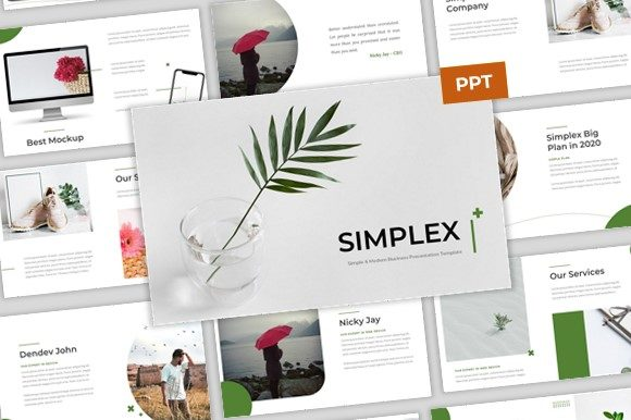 Download Free Simplex Simple Modern Powerpoint Graphic By Pradiptacreative for Cricut Explore, Silhouette and other cutting machines.