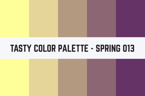 Print on Demand: Solids Tasty Color Palette - Spring 013 Graphic Textures By RefreshUp