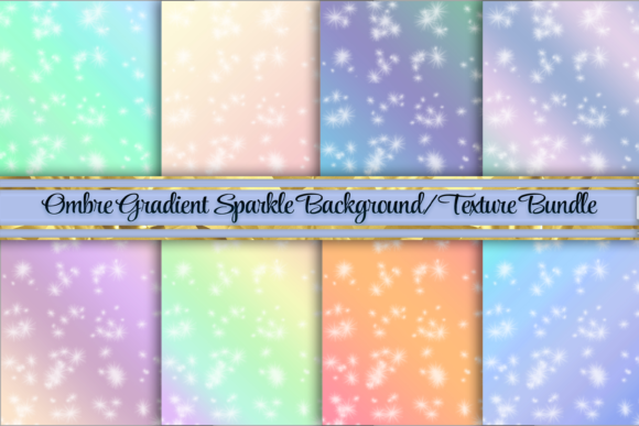 Download Free Sparkle Gradient Background Textures Graphic By Am Digital for Cricut Explore, Silhouette and other cutting machines.