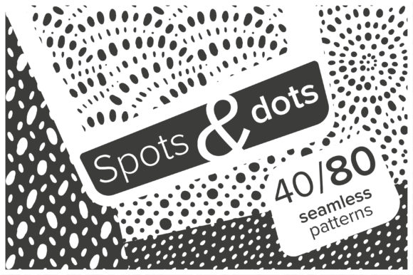Print on Demand: Spots and Dots Patterns Set Graphic Patterns By KatiaZhe