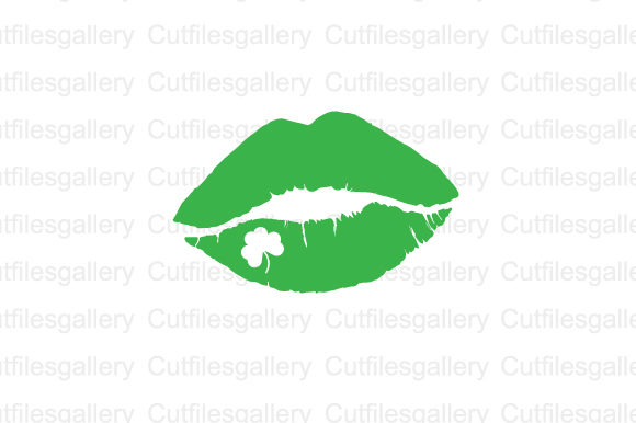 Download Free St Patricks Day Lip Svg Graphic By Cutfilesgallery Creative for Cricut Explore, Silhouette and other cutting machines.