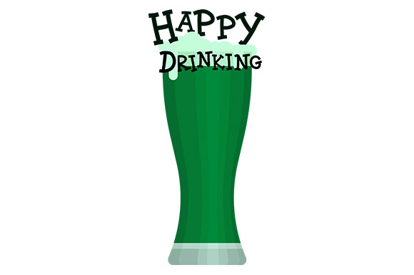 Download Free St Patrick S Day Beer Happy Drinking Graphic By Latin Vibes for Cricut Explore, Silhouette and other cutting machines.