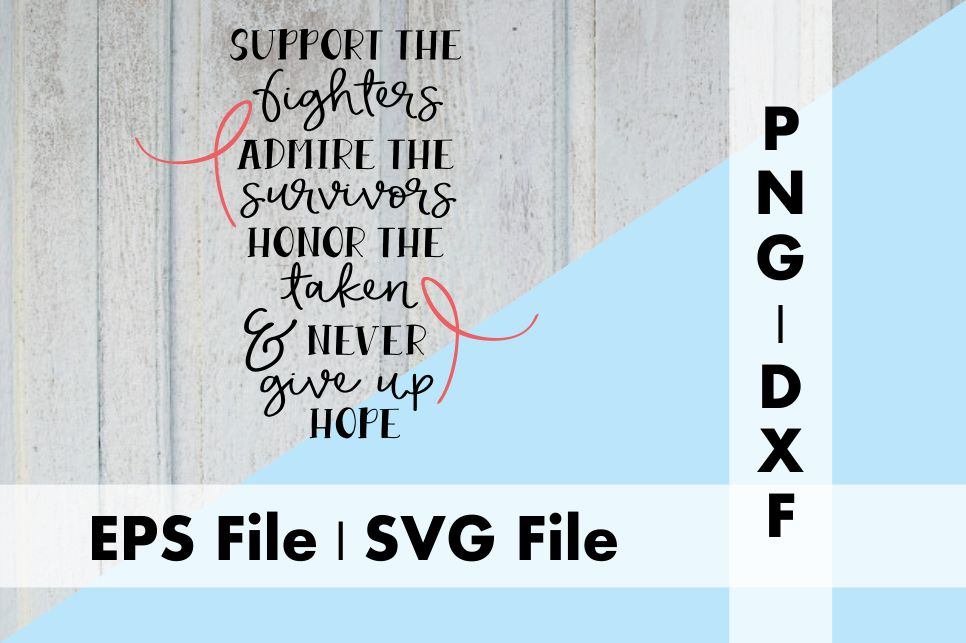 Download Free Support The Fighters Graphic By Deespana Studio Creative Fabrica for Cricut Explore, Silhouette and other cutting machines.