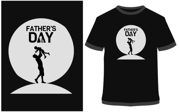 Download Free T Shirt Design Fathers Day Graphic By Prodesigns Creative for Cricut Explore, Silhouette and other cutting machines.