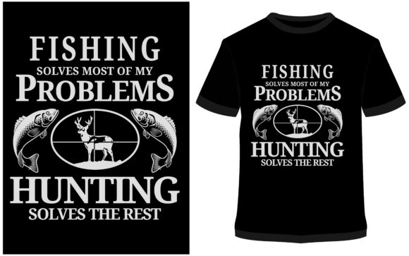 Download Free T Shirt Design Fishing T Shirt Graphic By Prodesigns for Cricut Explore, Silhouette and other cutting machines.