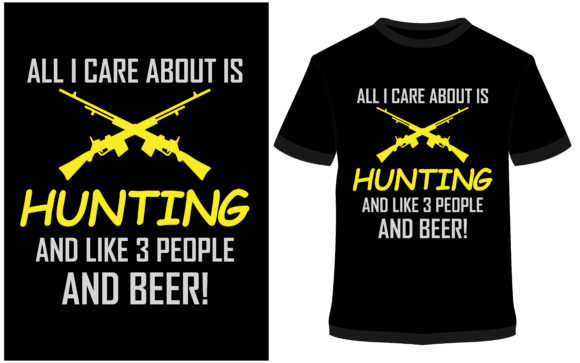 Download Free T Shirt Design Funny Hunting Shirts Graphic By Prodesigns for Cricut Explore, Silhouette and other cutting machines.