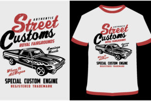 Download Free T Shirt Design Street Custom Graphic By Prodesigns Creative for Cricut Explore, Silhouette and other cutting machines.