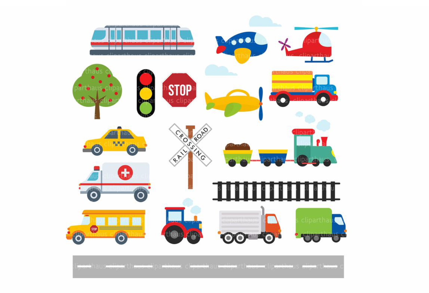 Download Free Trains Planes And Transport Clipart Graphic By Svg Den for Cricut Explore, Silhouette and other cutting machines.