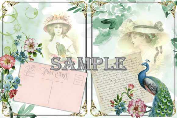 Download Free Victorian Journal Kit With Free Ephemera Graphic By The Paper for Cricut Explore, Silhouette and other cutting machines.