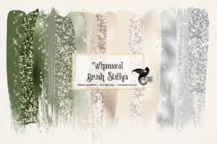 Download Free Whimsical Brush Strokes Clipart Graphic By Digital Curio for Cricut Explore, Silhouette and other cutting machines.