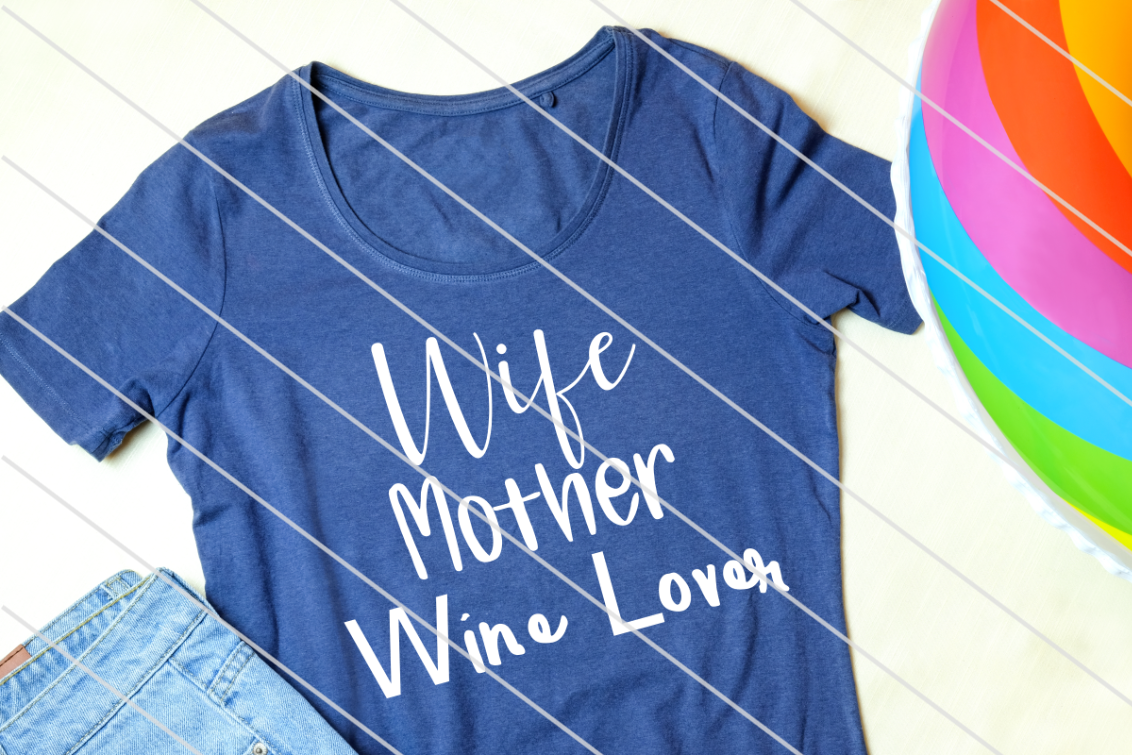 Download Free Wif Mother Wine Lover Graphic By Amy Anderson Designs Creative for Cricut Explore, Silhouette and other cutting machines.