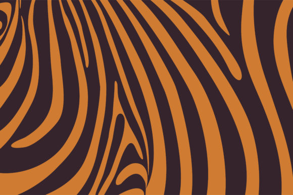 Print on Demand: Brown Orange Skin Pattern Background Graphic Backgrounds By noory.shopper