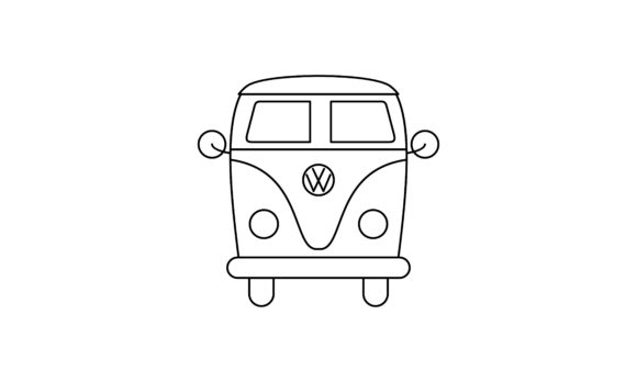 Car Coloring Book Transportation Logo Graphic Coloring Pages & Books Kids By DEEMKA STUDIO