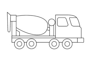 Print on Demand: Car Coloring Book Transportation Logo Graphic Coloring Pages & Books Kids By DEEMKA STUDIO