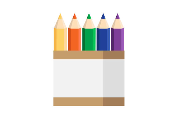 Print on Demand: Crayon Icon Graphic Icons By Home Sweet