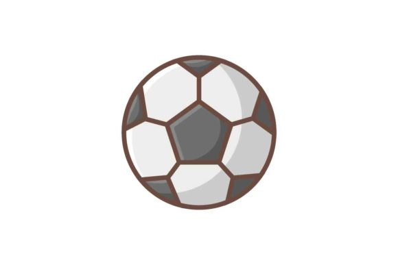 Print on Demand: Sport_soccer Ball Graphic Icons By Home Sweet