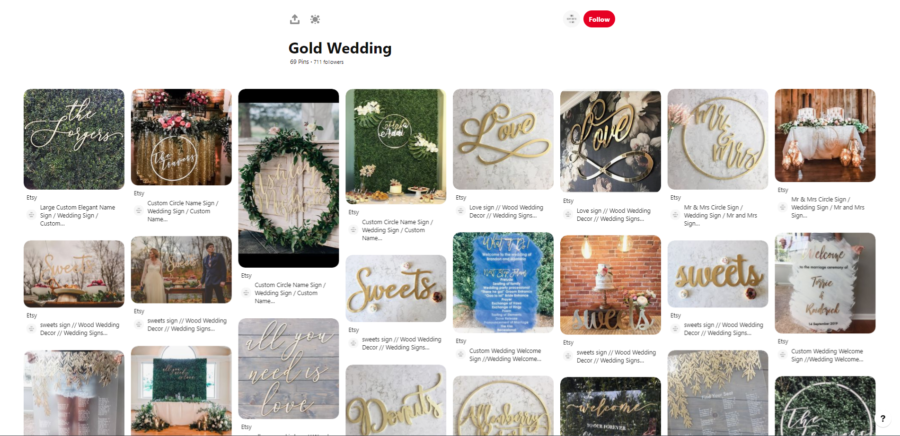 Download Free 30 Diy Wedding Boards That Future Brides Must Follow On Pinterest for Cricut Explore, Silhouette and other cutting machines.