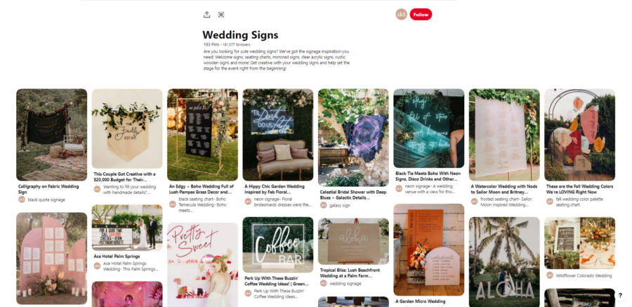 30 DIY Wedding boards that you should follow on Pinterest
