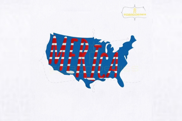 Download Free 4th Of July Usa Merica Map Creative Fabrica for Cricut Explore, Silhouette and other cutting machines.