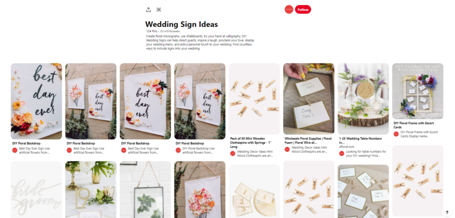 30 DIY wedding boards that every bride must follow on Pinterest