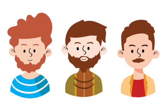 Download Free Avatar Vector Of World People Man Graphic By Outputs Studio for Cricut Explore, Silhouette and other cutting machines.