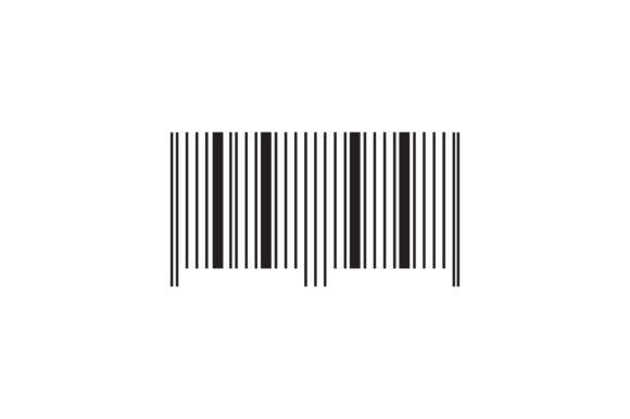 Barcode Line Icon Graphic Icons By rifkihaikal567