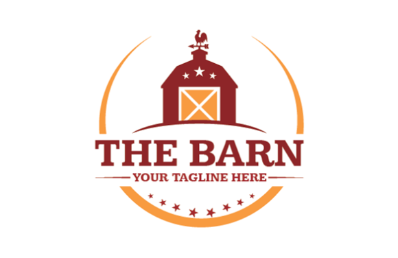 Download Free Barn Logo Grafico Por Redvy Creative Creative Fabrica for Cricut Explore, Silhouette and other cutting machines.