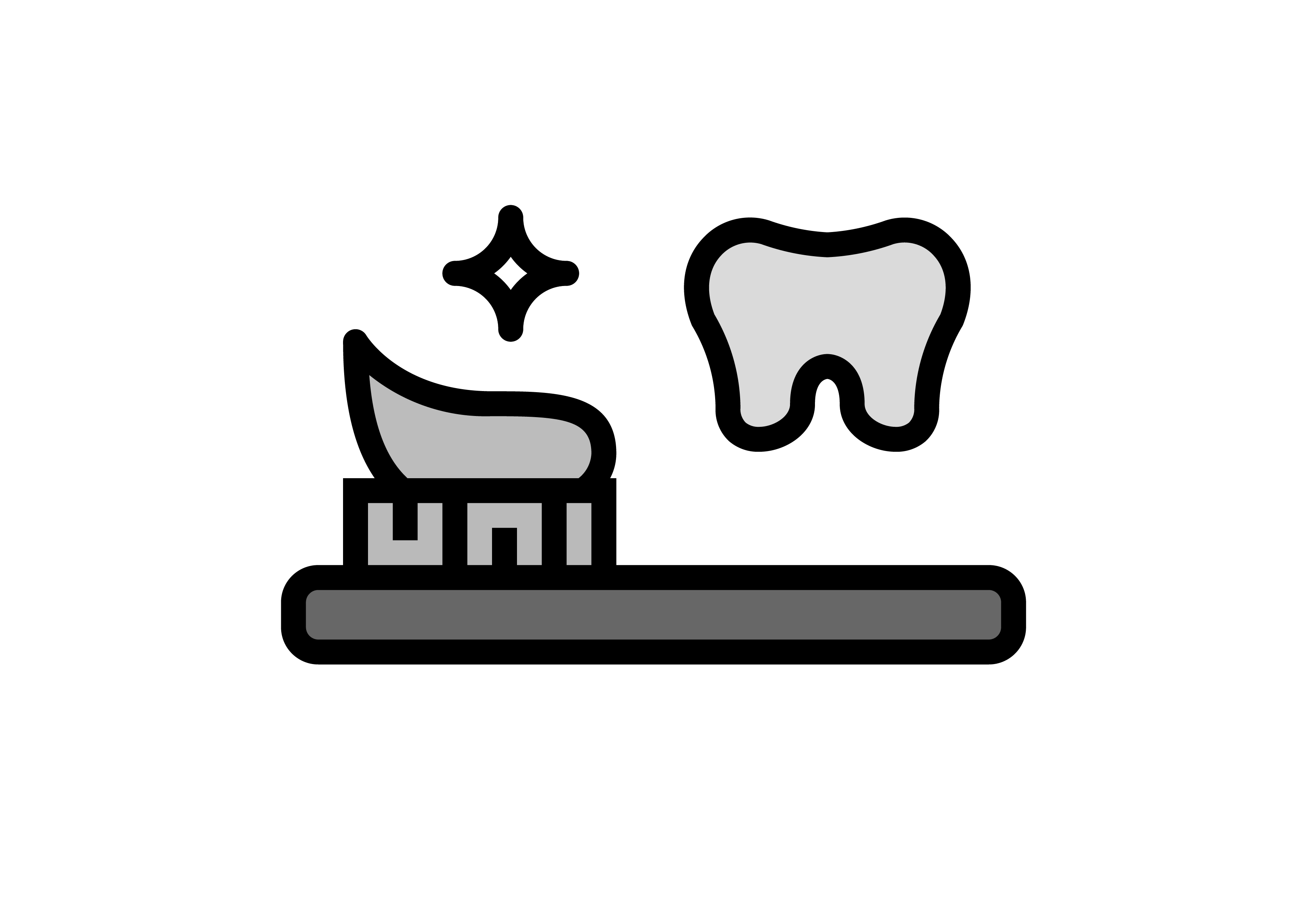 Download Free Beauty Dental Care Graphic By Cool Coolpkm3 Creative Fabrica for Cricut Explore, Silhouette and other cutting machines.
