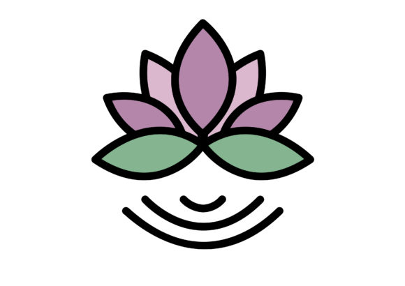 Download Free Beauty Lotus Flower Graphic By Cool Coolpkm3 Creative Fabrica for Cricut Explore, Silhouette and other cutting machines.