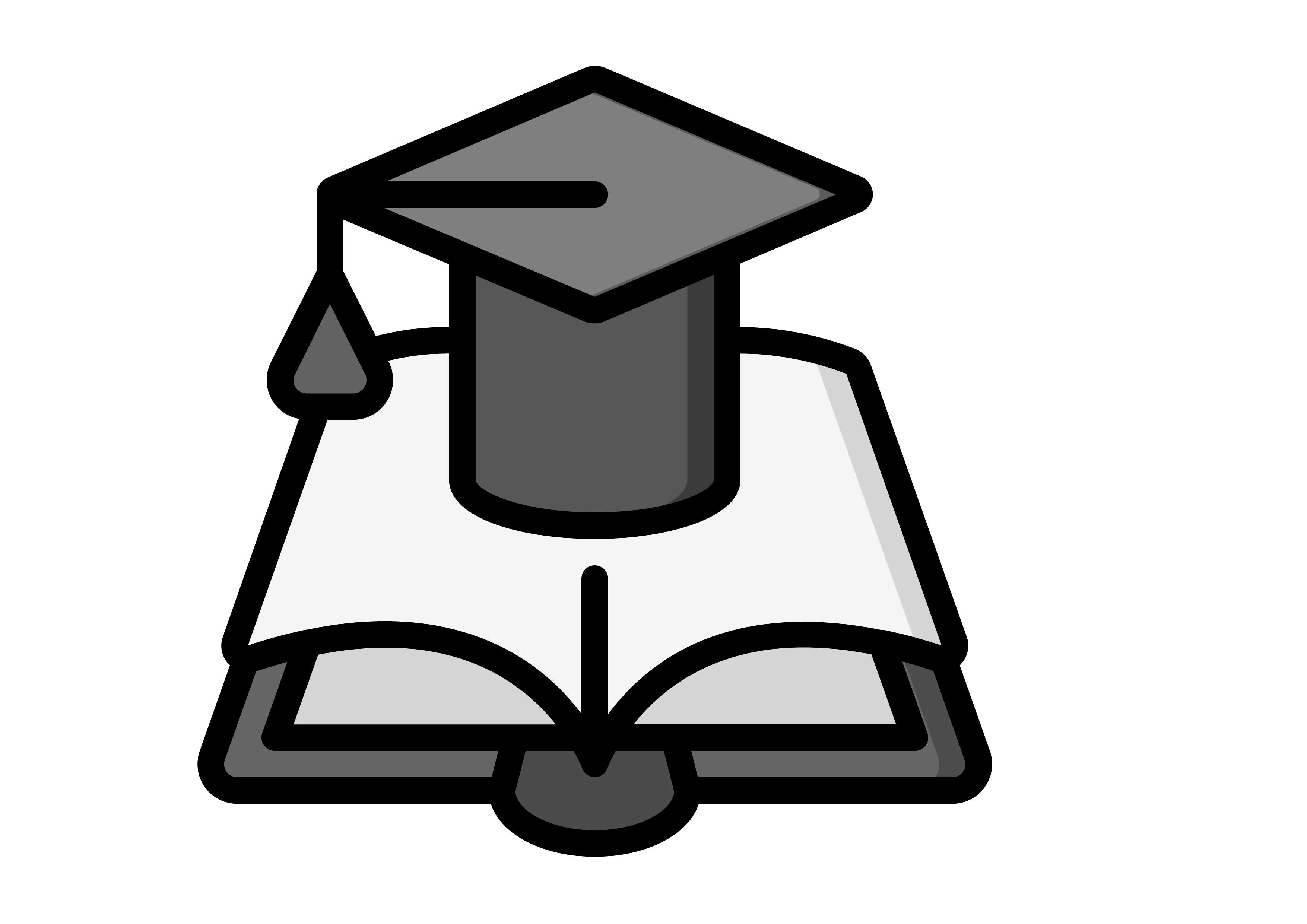 Download Free Graduation Books Graphic By Ibua9900 Creative Fabrica for Cricut Explore, Silhouette and other cutting machines.
