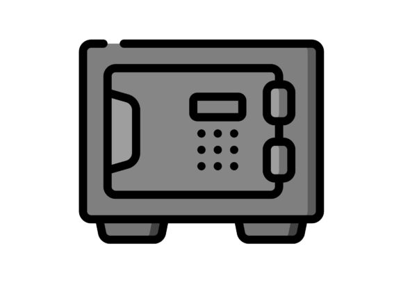 Download Free Business Safe Box Graphic By Ibua9900 Creative Fabrica for Cricut Explore, Silhouette and other cutting machines.