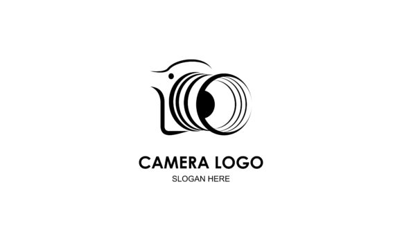 Download Free Camera Logo Design Vector Illustration Graphic By Deemka Studio for Cricut Explore, Silhouette and other cutting machines.