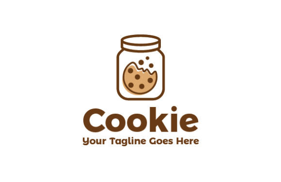 cookie logo graphic by redvy creative creative fabrica cookie logo