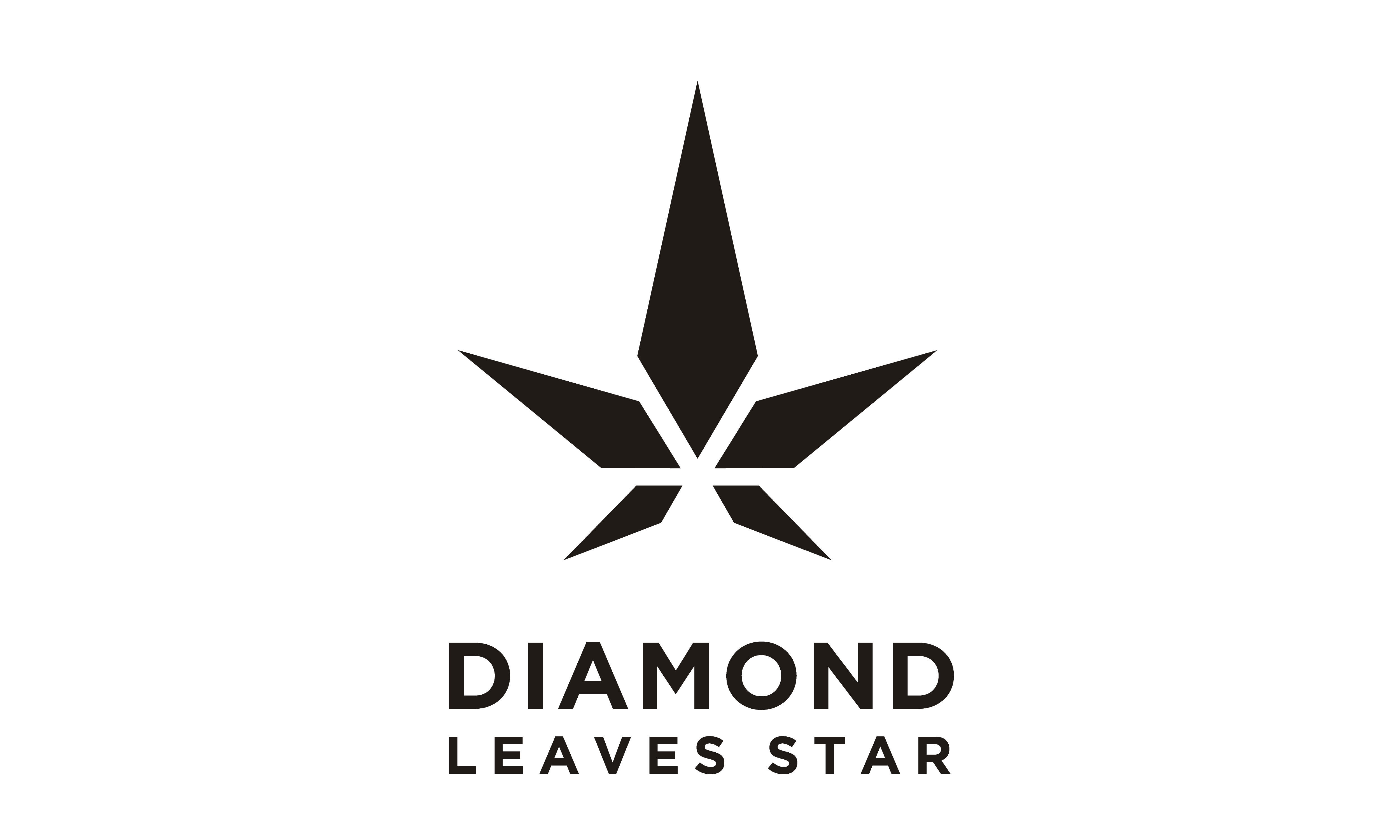 Download Free Diamond Star Cannabis Leaf Hemp Cbd Logo Graphic By Enola99d for Cricut Explore, Silhouette and other cutting machines.