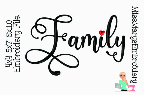 Family Embroidery