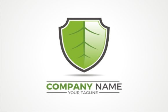 Download Free Green Shield Logo Graphic By Ts D Sign Creative Fabrica for Cricut Explore, Silhouette and other cutting machines.