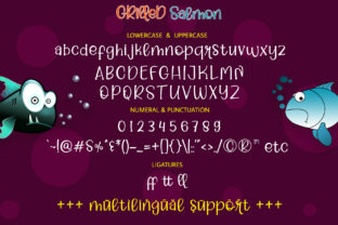 Print on Demand: Grilled Salmon Script & Handwritten Font By airotype 6