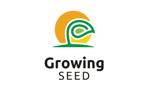 Download Free Growing Seed Plant Garden Farm Logo Graphic By Enola99d for Cricut Explore, Silhouette and other cutting machines.