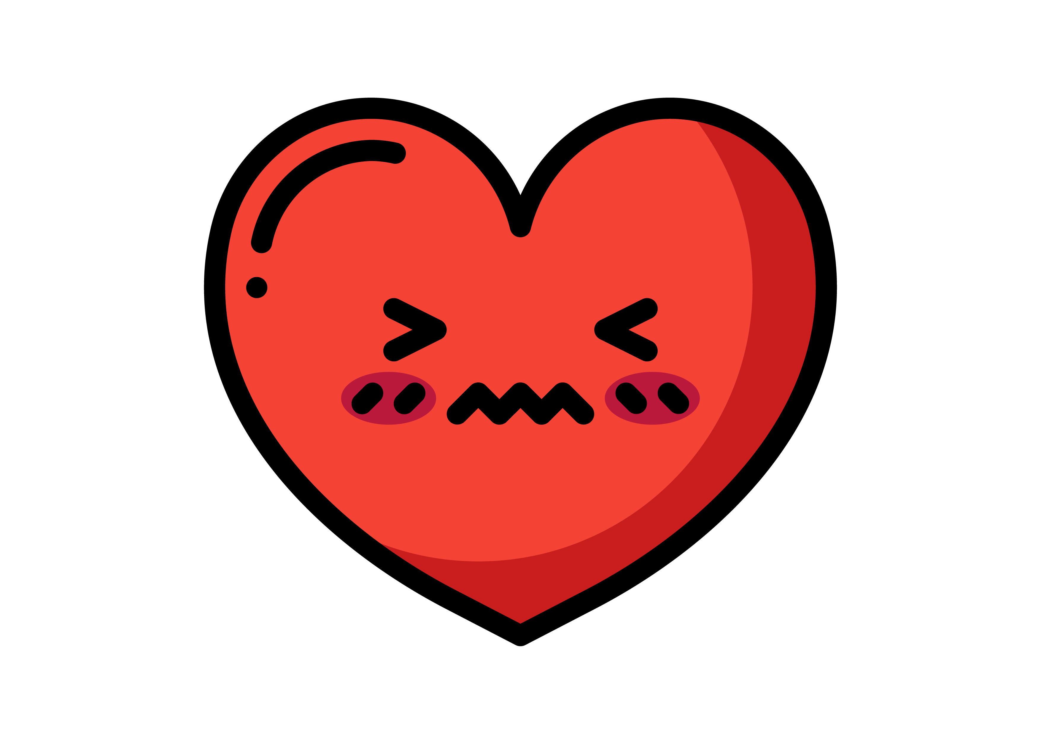 Download Free Heart Emoticons Graphic By Colorkhu123 Creative Fabrica for Cricut Explore, Silhouette and other cutting machines.