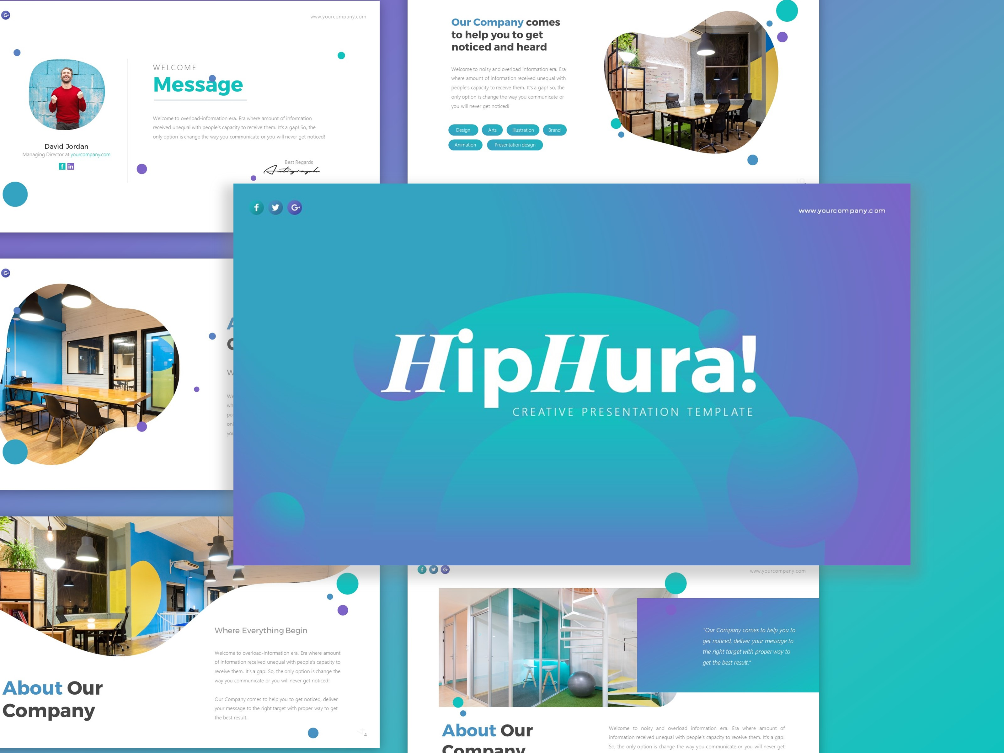 Download Free Hiphura Creative Business Presentation Graphic By Dijimedia for Cricut Explore, Silhouette and other cutting machines.