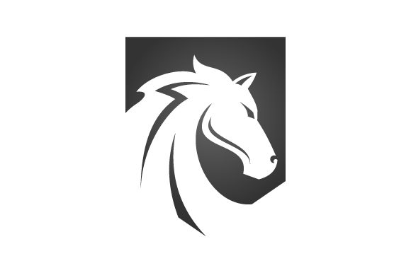 Download Free Horse Head Logo Graphic By Hartgraphic Creative Fabrica for Cricut Explore, Silhouette and other cutting machines.