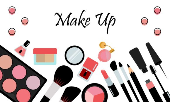 Makeup Beauty and Cosmetics Icons Vector Graphic Logos By 2qnah