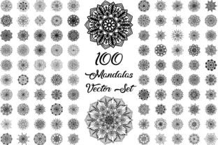 Mandala Vector Flower Pattern Graphic Icons By pohdeedesign