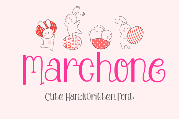 Print on Demand: Marchone Script & Handwritten Font By Jasm (7NTypes)