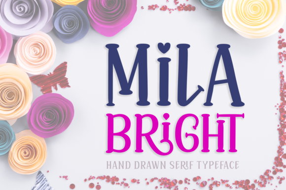 Print on Demand: Mila Bright Script & Handwritten Font By Jasm (7NTypes)