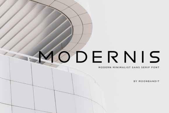 Print on Demand: Modernis Sans Serif Font By moonbandit